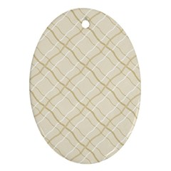 Background Pattern Oval Ornament (Two Sides)