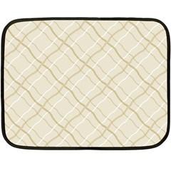 Background Pattern Double Sided Fleece Blanket (mini)