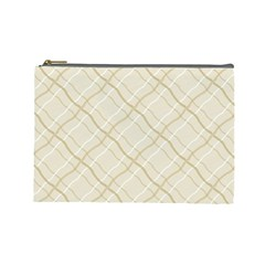 Background Pattern Cosmetic Bag (large)