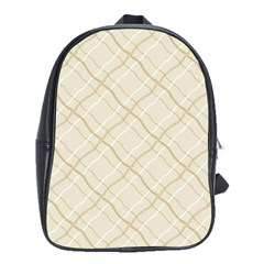 Background Pattern School Bags(Large)