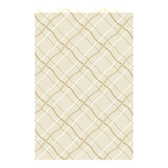Background Pattern Shower Curtain 48  x 72  (Small)