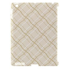 Background Pattern Apple iPad 3/4 Hardshell Case (Compatible with Smart Cover)