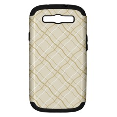 Background Pattern Samsung Galaxy S III Hardshell Case (PC+Silicone)