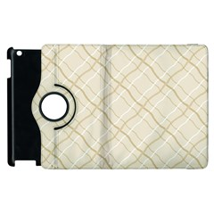 Background Pattern Apple iPad 3/4 Flip 360 Case