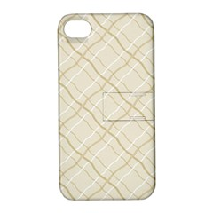 Background Pattern Apple iPhone 4/4S Hardshell Case with Stand