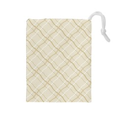 Background Pattern Drawstring Pouches (Large)