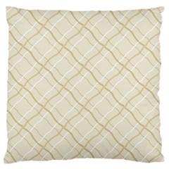 Background Pattern Large Flano Cushion Case (One Side)