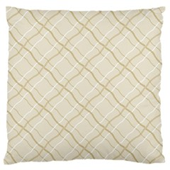Background Pattern Large Flano Cushion Case (Two Sides)