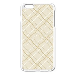 Background Pattern Apple iPhone 6 Plus/6S Plus Enamel White Case