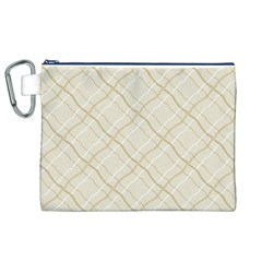 Background Pattern Canvas Cosmetic Bag (xl)