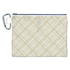 Background Pattern Canvas Cosmetic Bag (xxl)