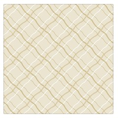 Background Pattern Large Satin Scarf (Square)