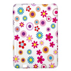 Colorful Floral Flowers Pattern Kindle Fire HD 8.9