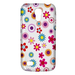 Colorful Floral Flowers Pattern Galaxy S4 Mini