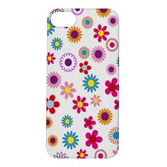 Colorful Floral Flowers Pattern Apple iPhone 5S/ SE Hardshell Case