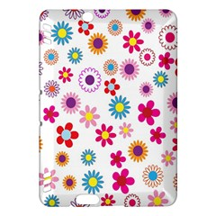 Colorful Floral Flowers Pattern Kindle Fire HDX Hardshell Case
