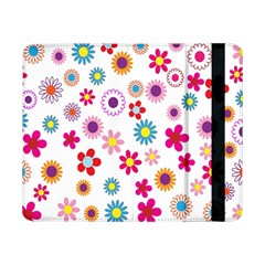 Colorful Floral Flowers Pattern Samsung Galaxy Tab Pro 8.4  Flip Case