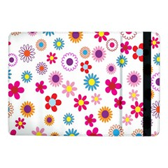 Colorful Floral Flowers Pattern Samsung Galaxy Tab Pro 10 1  Flip Case