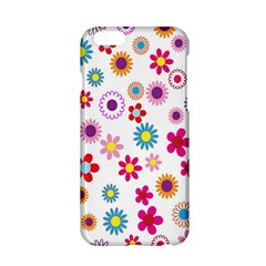 Colorful Floral Flowers Pattern Apple iPhone 6/6S Hardshell Case