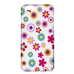 Colorful Floral Flowers Pattern Apple iPhone 6 Plus/6S Plus Hardshell Case