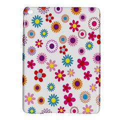 Colorful Floral Flowers Pattern iPad Air 2 Hardshell Cases