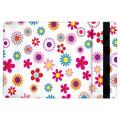 Colorful Floral Flowers Pattern iPad Air 2 Flip