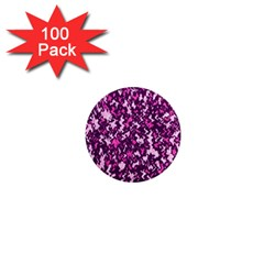 Chic Camouflage Colorful Background 1  Mini Magnets (100 pack)