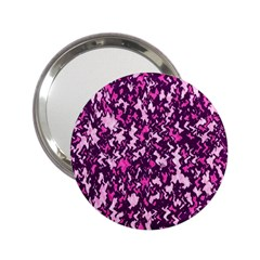 Chic Camouflage Colorful Background 2.25  Handbag Mirrors
