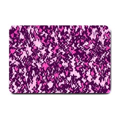 Chic Camouflage Colorful Background Small Doormat