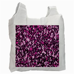 Chic Camouflage Colorful Background Recycle Bag (Two Side)