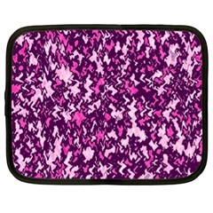 Chic Camouflage Colorful Background Netbook Case (XL)