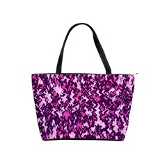 Chic Camouflage Colorful Background Shoulder Handbags