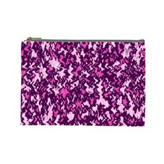 Chic Camouflage Colorful Background Cosmetic Bag (Large)