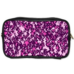 Chic Camouflage Colorful Background Toiletries Bags