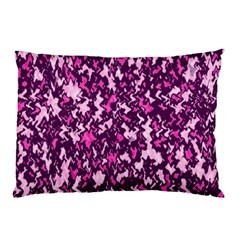 Chic Camouflage Colorful Background Pillow Case (two Sides)