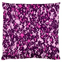 Chic Camouflage Colorful Background Large Cushion Case (Two Sides)