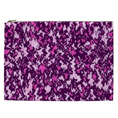 Chic Camouflage Colorful Background Cosmetic Bag (XXL)