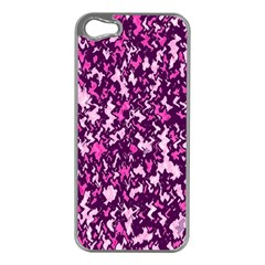 Chic Camouflage Colorful Background Apple iPhone 5 Case (Silver)