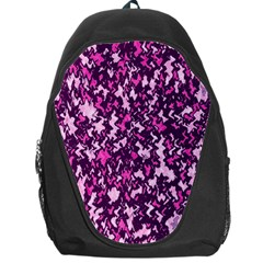 Chic Camouflage Colorful Background Backpack Bag