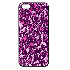 Chic Camouflage Colorful Background Apple iPhone 5 Seamless Case (Black)