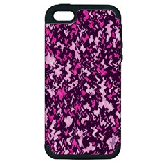 Chic Camouflage Colorful Background Apple iPhone 5 Hardshell Case (PC+Silicone)
