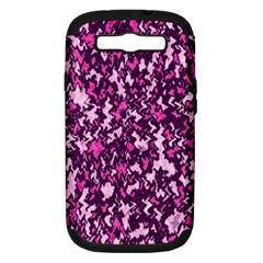 Chic Camouflage Colorful Background Samsung Galaxy S III Hardshell Case (PC+Silicone)