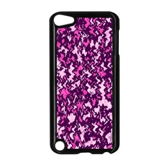 Chic Camouflage Colorful Background Apple iPod Touch 5 Case (Black)