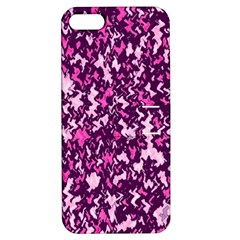Chic Camouflage Colorful Background Apple iPhone 5 Hardshell Case with Stand