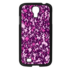 Chic Camouflage Colorful Background Samsung Galaxy S4 I9500/ I9505 Case (Black)