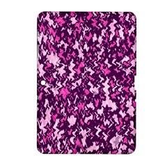 Chic Camouflage Colorful Background Samsung Galaxy Tab 2 (10.1 ) P5100 Hardshell Case