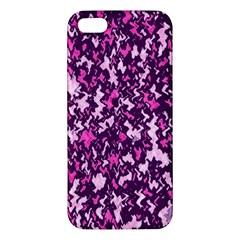 Chic Camouflage Colorful Background iPhone 5S/ SE Premium Hardshell Case