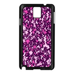 Chic Camouflage Colorful Background Samsung Galaxy Note 3 N9005 Case (Black)