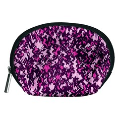 Chic Camouflage Colorful Background Accessory Pouches (medium)