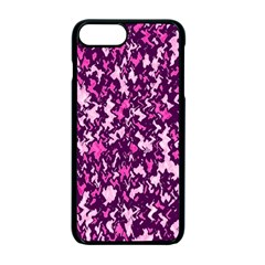 Chic Camouflage Colorful Background Apple Iphone 7 Plus Seamless Case (black)